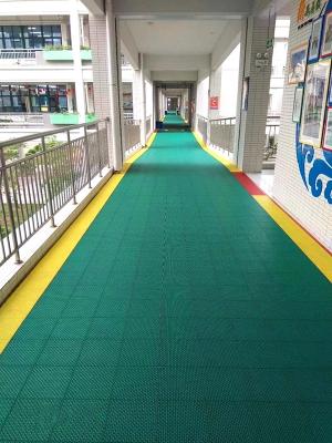 学校防滑楼道地面