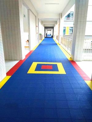 学校楼道拼装地面