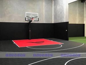 室内篮球场铺设
