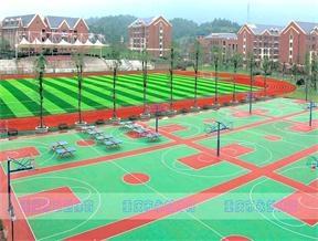 宜宾天立中学篮球场