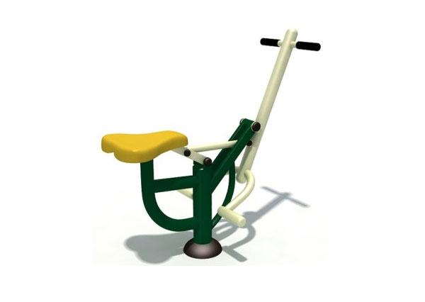 单柱骑马机