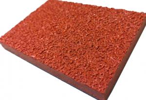 重庆全塑型自结纹塑胶跑道